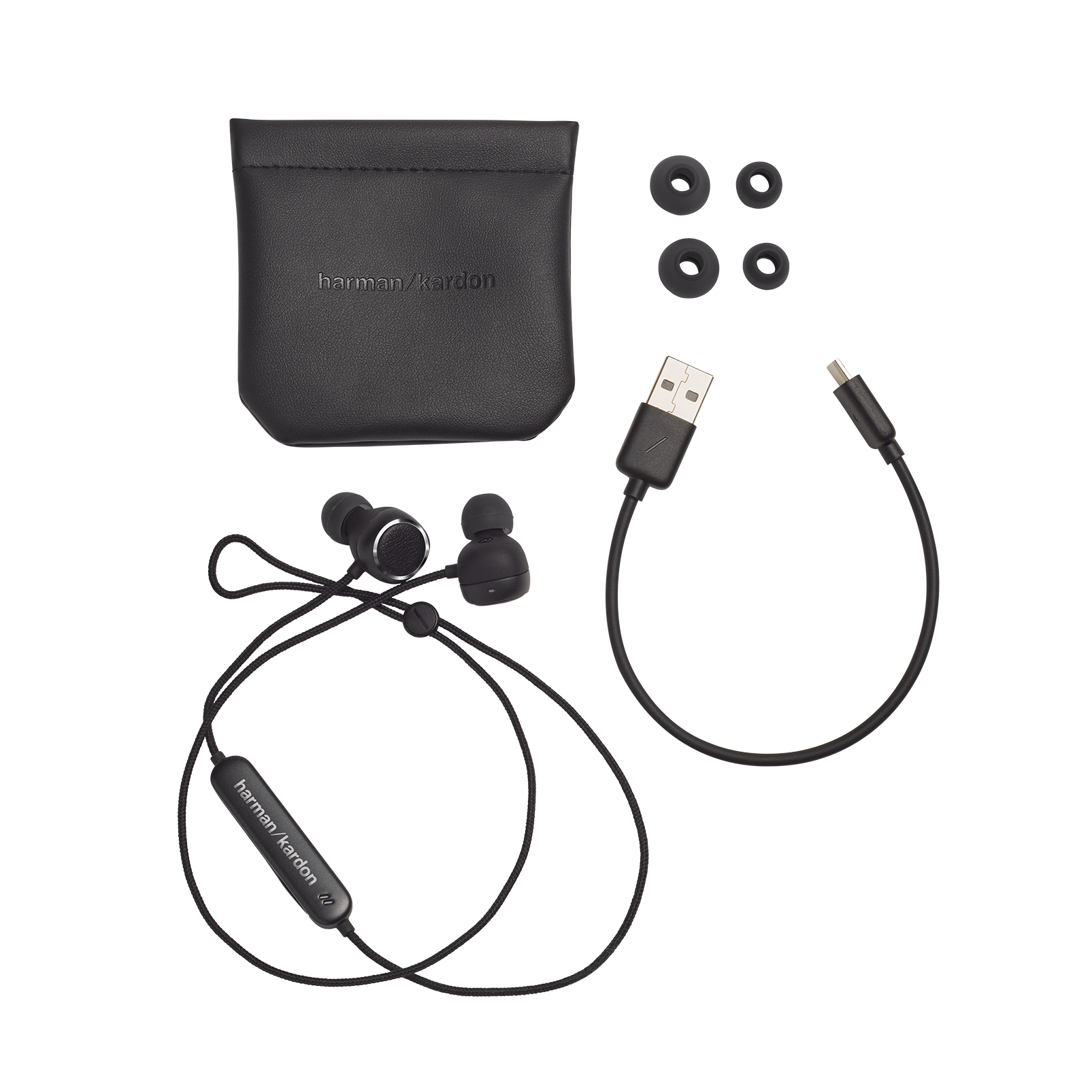 Harman Kardon FLY BT - Black - Bluetooth in-ear headphones - Detailshot 6