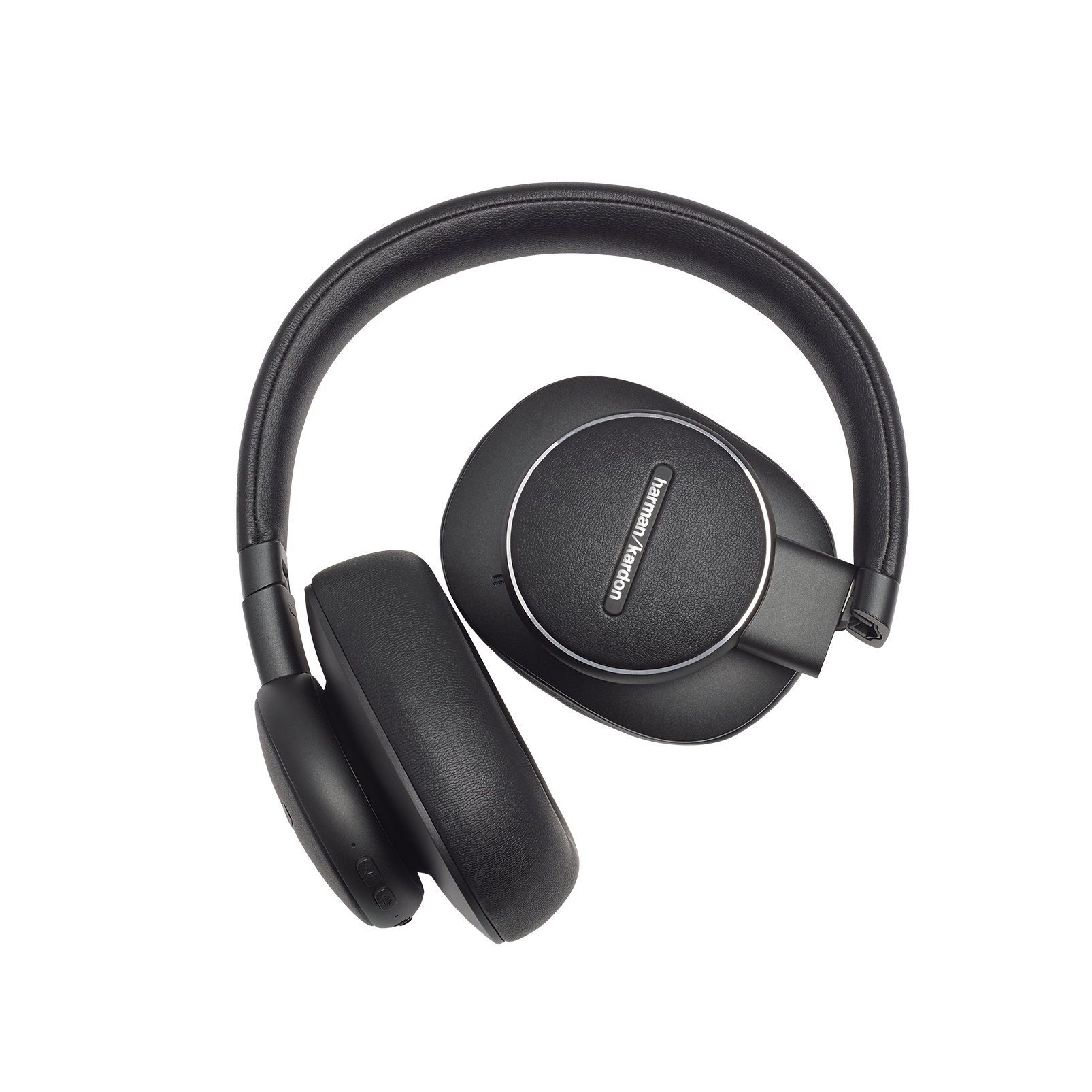 Harman Kardon FLY ANC - Black - Wireless Over-Ear NC Headphones - Detailshot 4