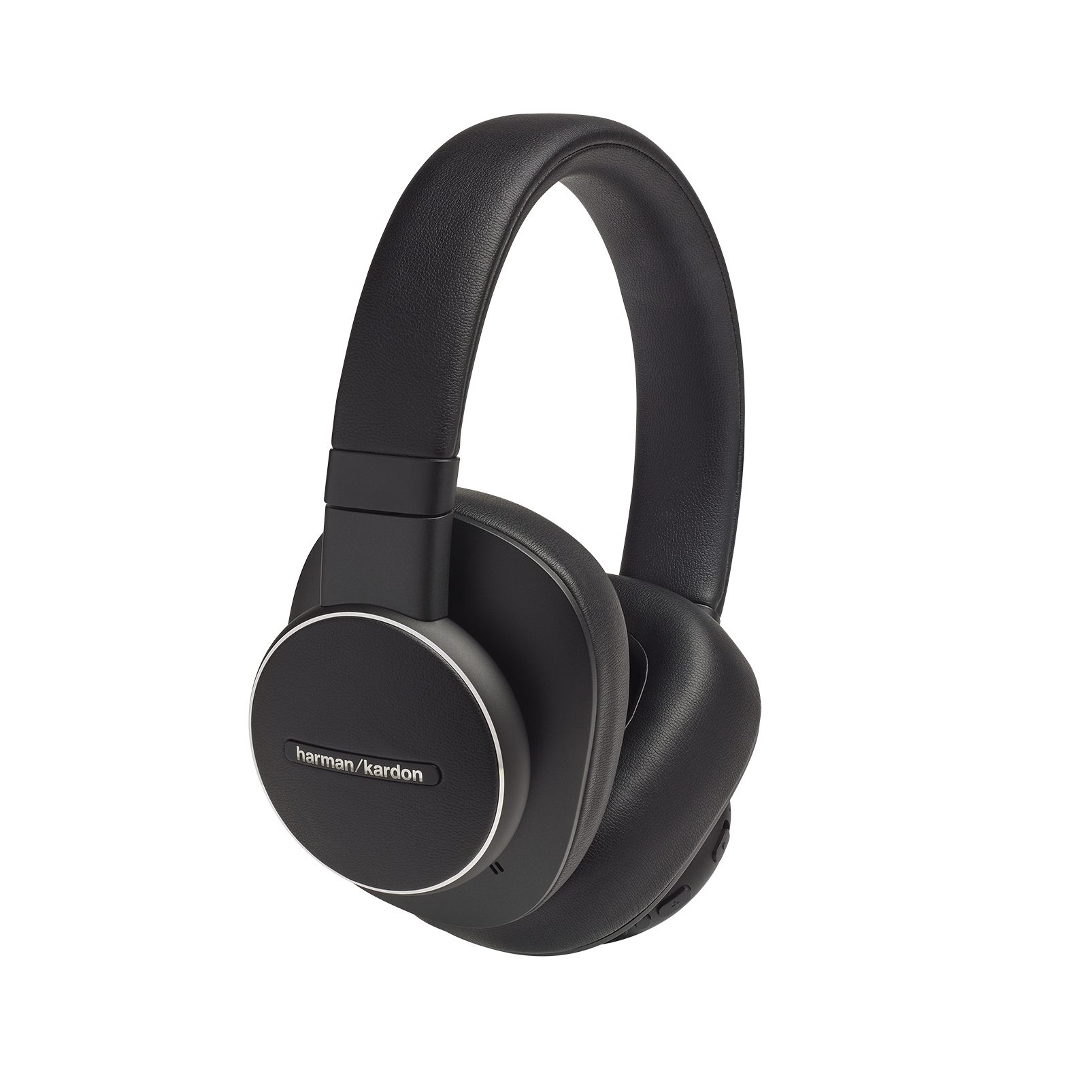 Harman Kardon FLY ANC - Black - Wireless Over-Ear NC Headphones - Hero